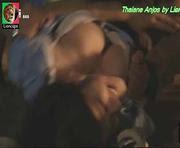 Thaiane Araujo em cena sensual na novela Ouro Verde