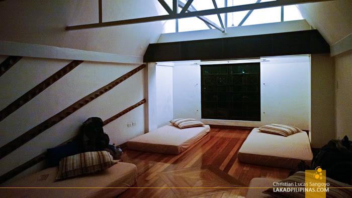 Loft Space at Manila's Red Carabao Hostel