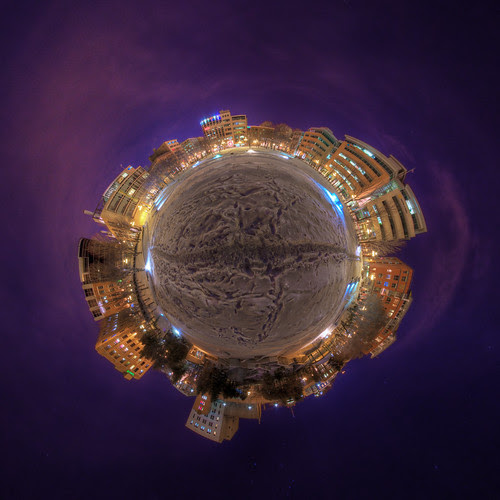 SaintRochoide - Stereographic Projection in St-Roch, Quebec