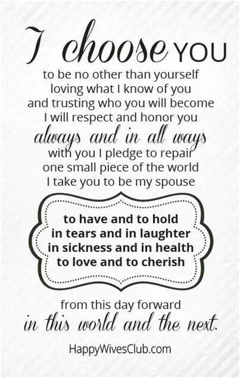 I choose you always   For My Husband   Pinterest