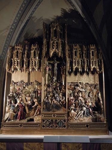 DSCN9317 _ Antwerp Passion Altar, Museum of Votivkirche, Wien, 2 October- 500