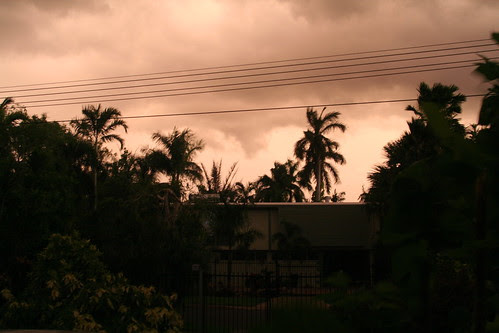 Darwin storm sky