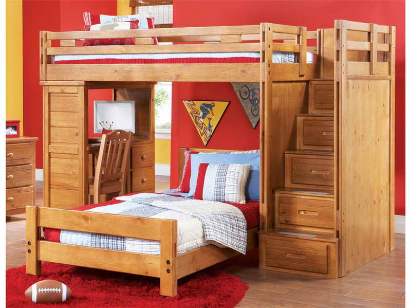 Loft Beds with Desk | Home Decor At Its Finest - QNUD - Quality ...