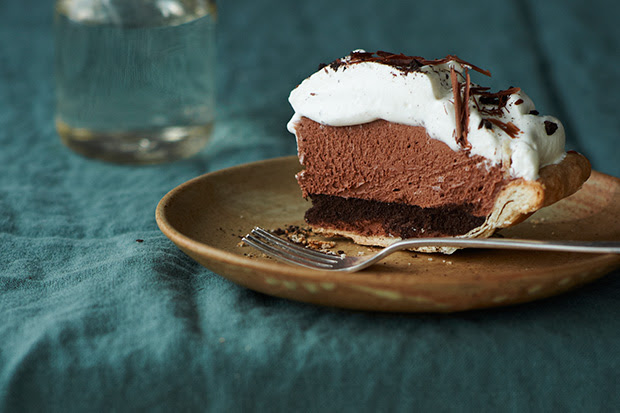 Mile-High Chocolate Pie recipe
