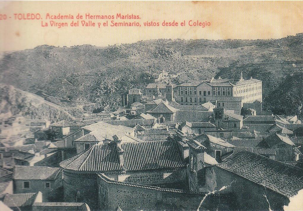 Seminario desde Santa Úrsula a inicios del siglo XX. Foto Thomas