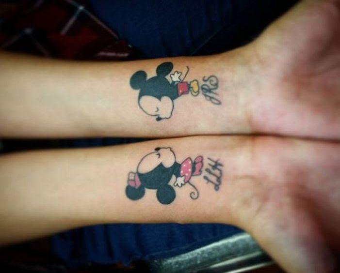 Ideas Para Tatuajes De Mickey Mouse Y Disney Tatuajes Geniales