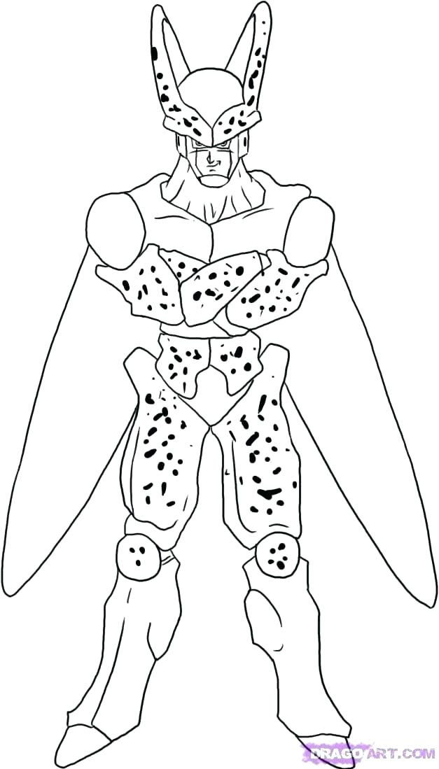 620 Dragon Ball Z Coloring Pages Free , Free HD Download