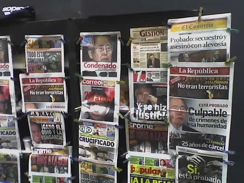 La condena a Alberto Fujimori: un día histórico