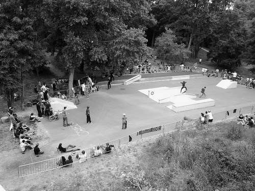 Skatepark île simon Tours
