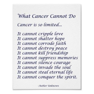 Another What Cancer Cannot Do Inspiring Quotes And Sayings
