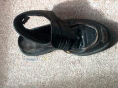 Chaussure à courant d'air