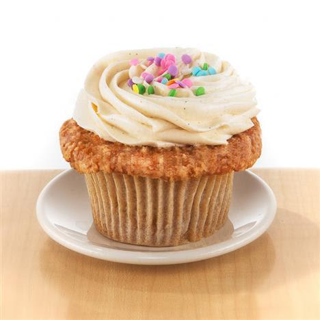 Gluten-Free Vanilla - Molly's Cupcakes