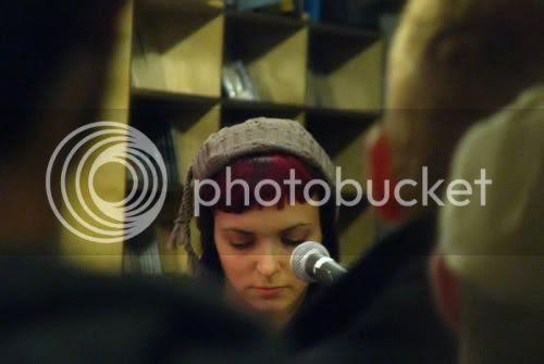 Amy Cole of RAA @ Soundscapes: photo by Michael Ligon