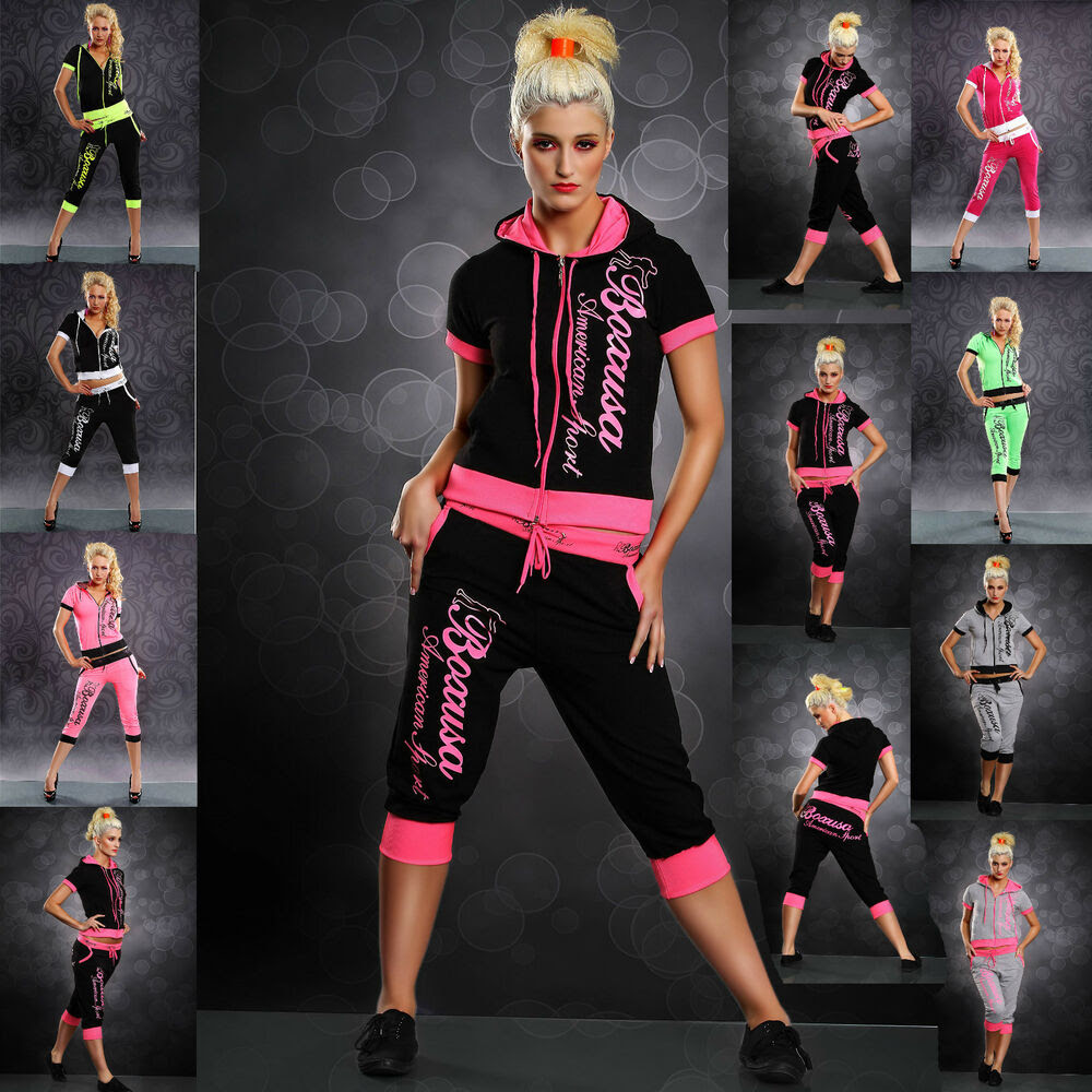 new sexy women hot hooded jacket tracksuit ladies jogging