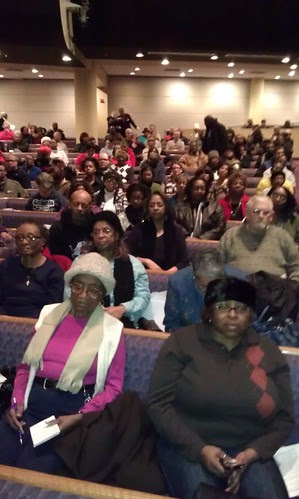 Mass meeting at Tabernacle Missionary Baptist Church in opposition to emergency management in the city of Detroit. The event attracted 2,000 people representing various community organizations and elected officials. (Photo: Abayomi Azikiwe) by Pan-African News Wire File Photos