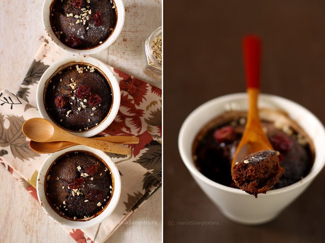 Self-saucing Chocolate Pudding