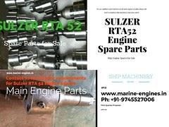 Sulzer RTA 52 Used Spare Parts