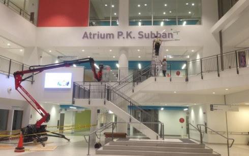 L'atrium P.K. Subban