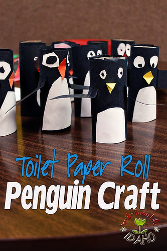 Penguin Craft and Bulletin Board