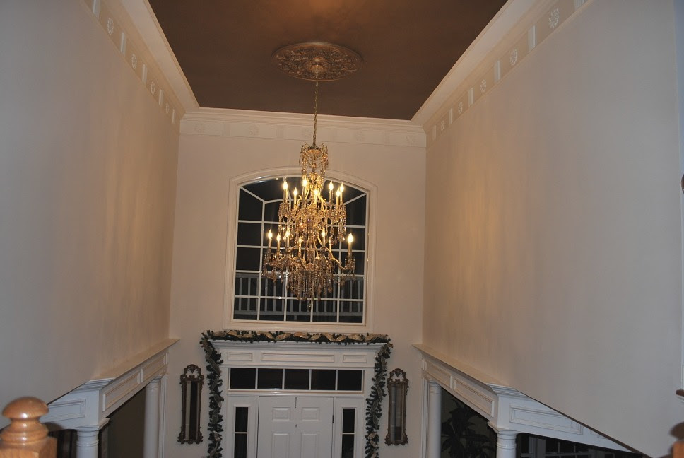 Help With Paint In A 2 Story Foyer With An Open Floor Plan Mirror
