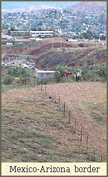 Mexico-Arizona border
