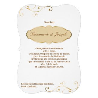 Invitación - Wedding02 Invitación Personalizada