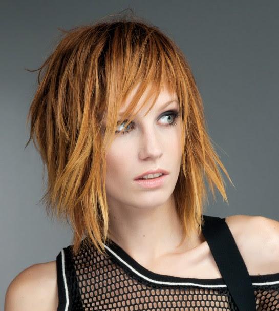 Tagli di capelli medi moderni Tagli di capelli e Acconciature - immagini tagli capelli medio lunghi