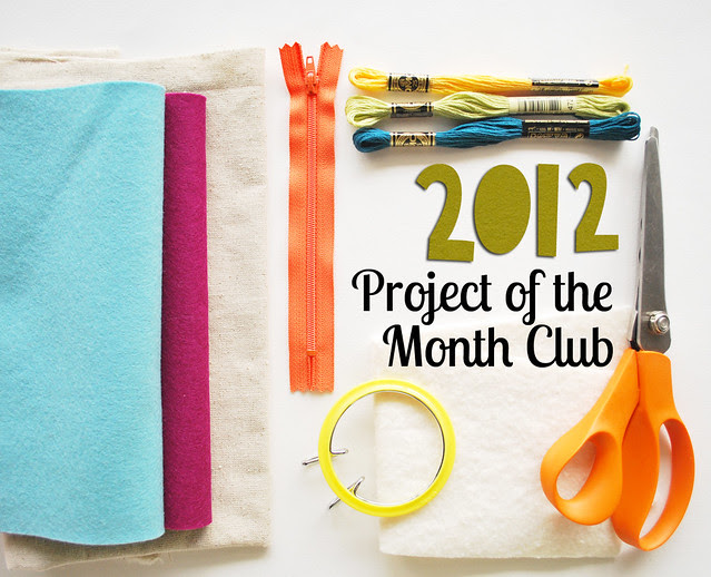 2012 Project of the Month Club
