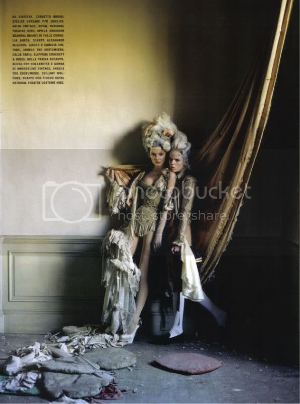 Vogue Italia March 2010 - Lady Grey - Charles Guislain @ StreetStylista.Guy