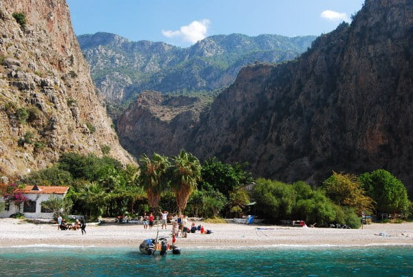 Butterfly Valley: One of the best places to have holiday in Turkey