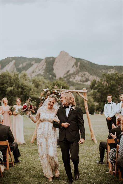 Stylish Earthy Colorado Wedding at Chautauqua Park