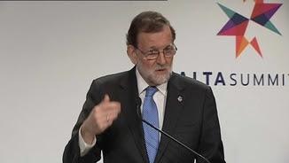Rajoy a La Valletta