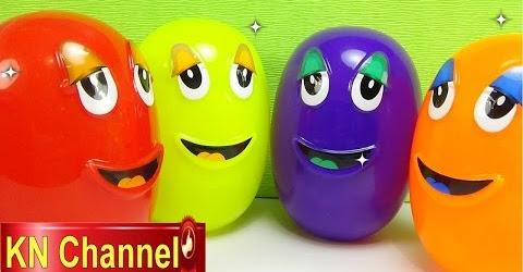 Bé na Bóc Trứng đồ chơi lấy bất ngờ tập 6 Magic Eggs Surprise Kid Childrens toys