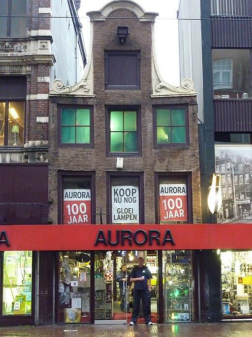 Amsterdam - Vijzelstraat 27-35 (halsgevel)