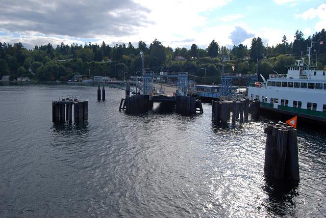 SR 160 @ Vashon Dock