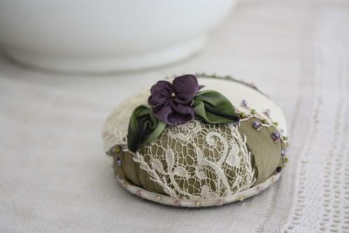Violet Pincushion