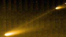 Fragmentos arrojados por el cometa 73P | NASA