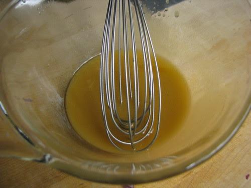 vinegar and oil