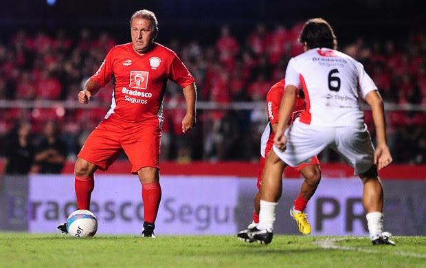 Zico partida Jogo das Estrelas (Foto: Marcos Ribolli / Globoesporte.com)