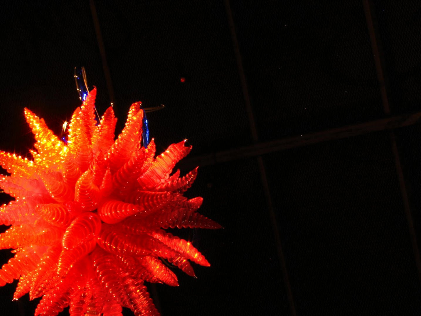 Chihuly Glass Sculpture exhibit at the Desert Botanical Gardens in Arizona - soul-amp.com