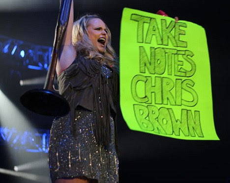 Message: Miranda Lambert dedicated a song to Chris during her concert on Thursday which is about a woman who kills her abusive husband