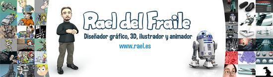 Rael del Fraile. Diseño Gráfico, Ilustración, 3D y Animación