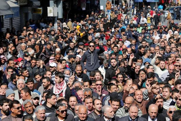 Image result for Jordanians Protest Over Price Increases