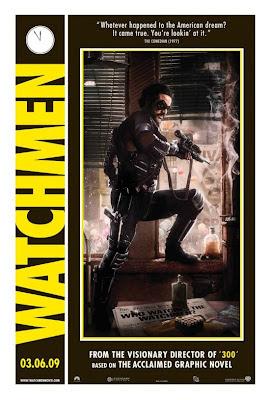 Watchmen Character Movie Posters - Jeffrey Dean Morgan as Edward Blake / The Comedian