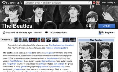 Wikipédia em 2015 - imagem retirada da Wikipédia