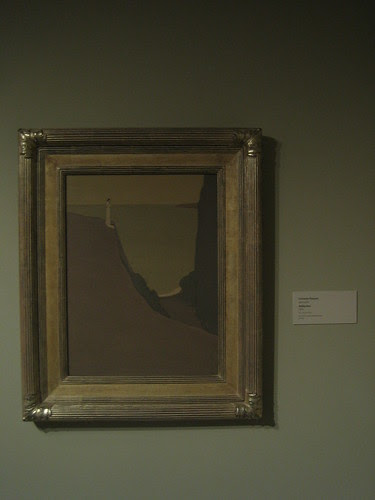 Reflection, 1904, Oil on Canvas, Gottardo Piazzoni, Oakland Museum of California _ 9582