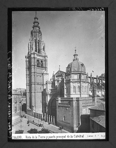 Catedral hacia 1910. Fotografía de Charles Chusseau-Flaviens. Copyright © George Eastman House, Rochester, NY