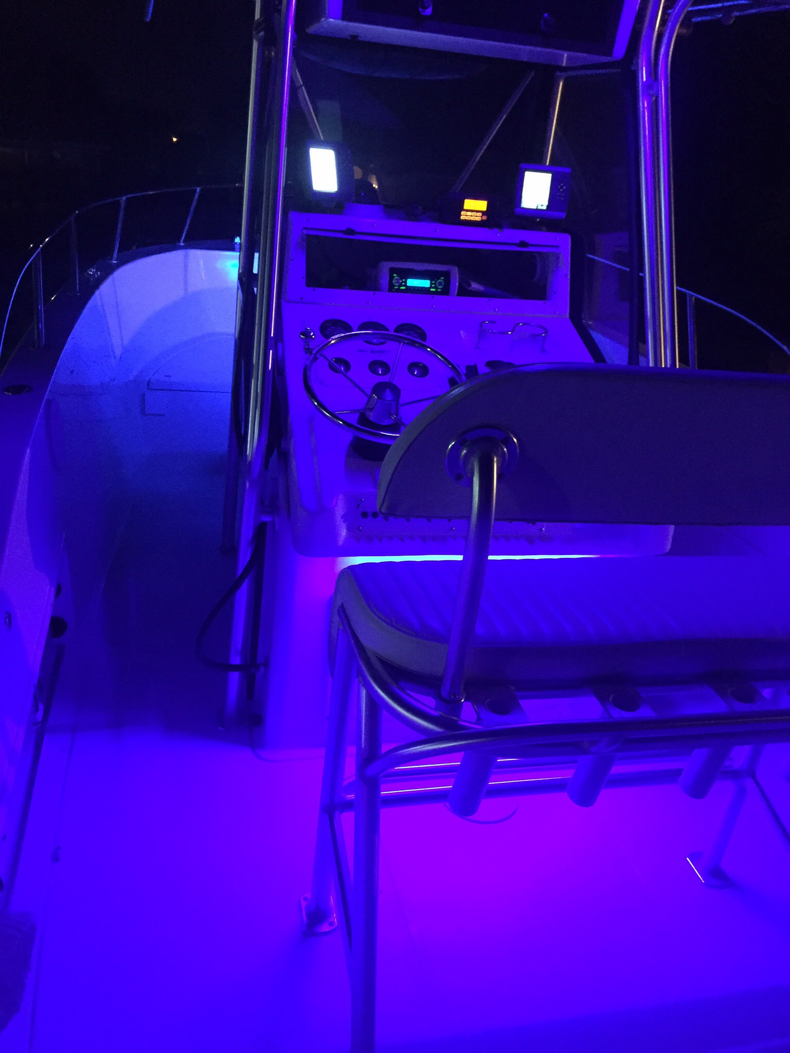 Post your boat at night, LED lights  The Hull Truth  Boating and Fishing Forum
