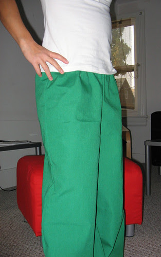 Lounge pants mods