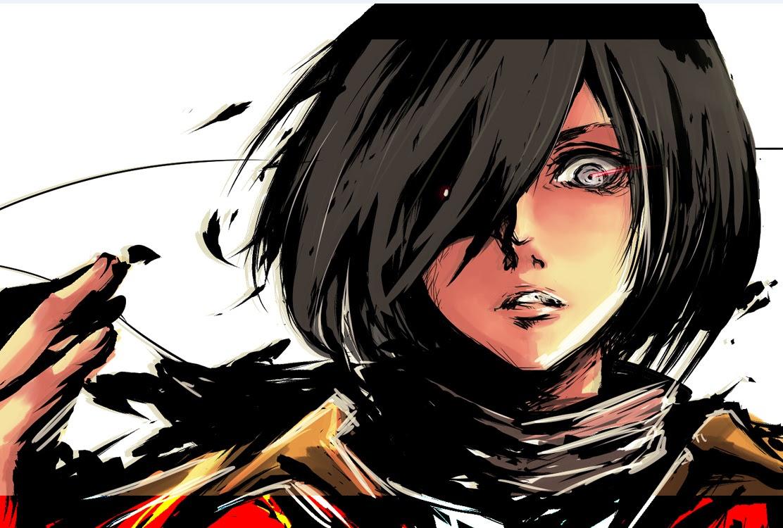 Badass Mikasa Shingeki No Kyojin Attack On Titan Fan Art 37908405 Fanpop